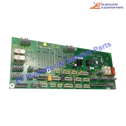 Escalator 591376 PCB