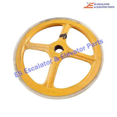 Escalator DSA2000535 Friction wheel, D=458 d=45/55 H=35 Use For LG/SIGMA