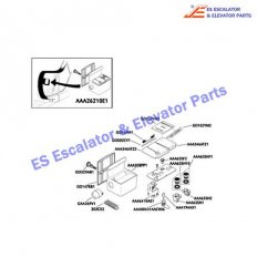 AAA194AX1 Escalator Keyswitches Parts Key