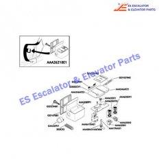 GO102YM1 Escalator Keyswitches Parts