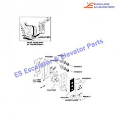 AAA147PD2 Escalator Keyswitches Parts