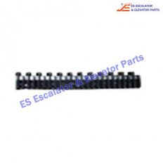Demarcation Strip 47332155B ABS Black