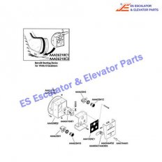 AAA147PE2 Escalator Keyswitches Parts