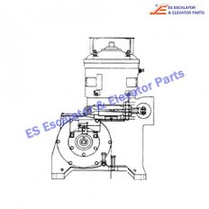 82R16 Machines Pin Pivot Brake Lever at Gearcase