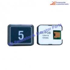 DL-POB button