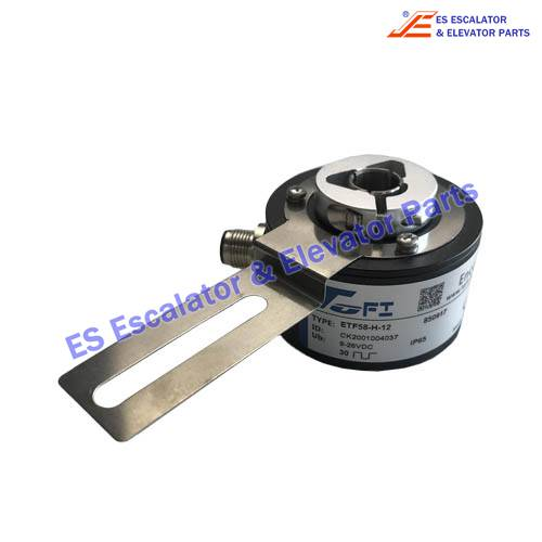 Escalator Parts ETF58-H-12 850917 Encoder Use For SJEC