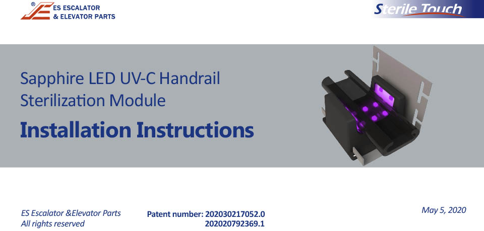Sterile Touch-Installation Manual