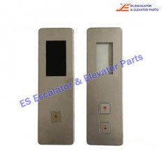 Elevator 8M.04VL16/H/BLU Outbound display