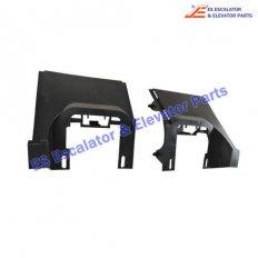 <b>GAB438BNX1 Escalator Handrail Inlet Protective Cover</b>