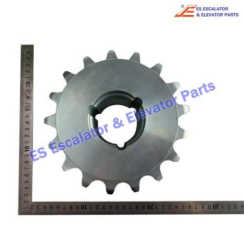 Escalator GAA20401C530 Gear Use For OTIS
