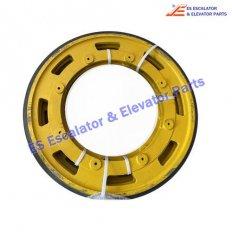 <b>Escalator KM5244784G01 Handrail Wheel Type C</b>