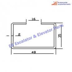 Escalator 0430CBJ Track