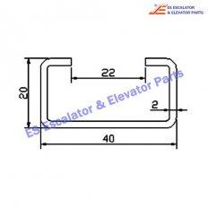 Escalator NJ-TGS004 Track