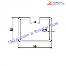 Escalator NJ-TGS002 Track