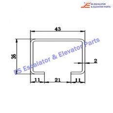 Escalator TGS-002 Track