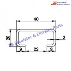 Escalator TGS-004 Track
