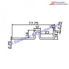 Escalator XAA50CQ Track