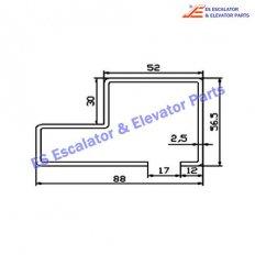 Escalator XAA50CJ Track
