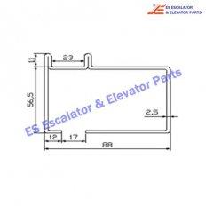 Escalator XAA50CK Track