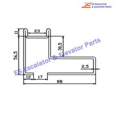 Escalator XAA50CH Track
