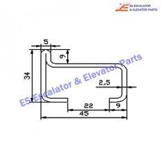 Escalator XAA50K Track