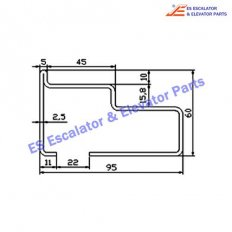 Escalator S620D027 Track