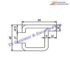 Escalator GAA50AGC Track