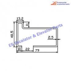 Escalator 0430CDD Track