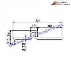 Escalator DAA50NQN Track