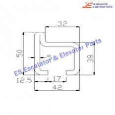 Escalator BJ-TGS001 Track
