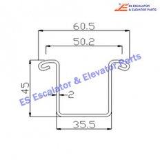 Escalator C0005029/XL Track