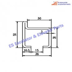Escalator G050WJ-F8N90235 Track