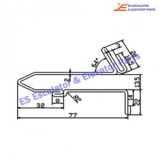 Escalator 61-G06-0S-4 Track