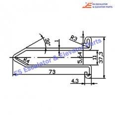 Escalator XAA50DZ Track