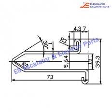 Escalator XAA50CG2 Track