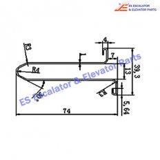 Escalator XAA50CG-2 Track