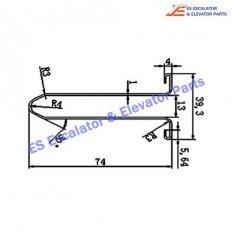 Escalator XAA50CG-3 Track