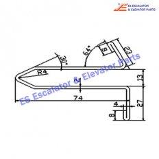 Escalator XAA50M-1 Track