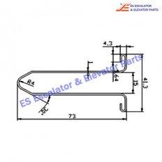 Escalator XAA50DZ-2 Track