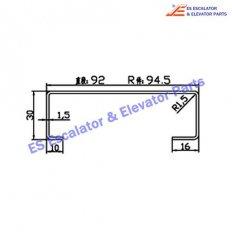 Escalator 430VW Track