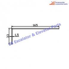 Escalator XAA50DQ Track