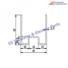 Escalator KNF2152-0430CCG Track