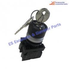 <b>Escalator NEA462553 Key Switch</b>