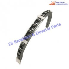 <b>XAA402TS3 Escalator Balustrade Guide Track With Rollers</b>