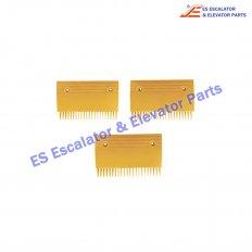 <b>KM5009380H02 Escalator Comb C Color Yellow Ral 1023W=126.1MM</b>