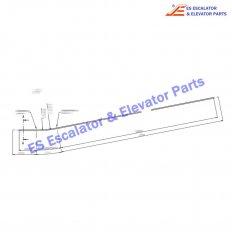 DEE2758674 Escalator Curved Section Bottom B11DEG