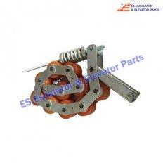 <b>GAA332Z4 Escalator Handrail Pressure Roller Chain</b>