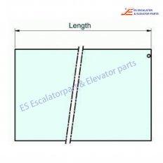 SMV405673 Escalator Glass Plate