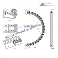 <b>DAA402CR1 Escalator Newel Guide</b>
