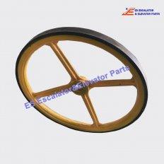 Lg/SigmaHandrailDriveWheel Escalator Handrail Drive Wheel